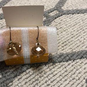 Stella and Dot delicate drop earrings